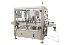 Rotary Self-Adhesive Bottle Labeling Machine (Three Labels)